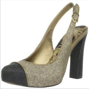 Adorable pair of sparkle heels by Sam Edelman!